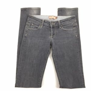 Paige Jeans Size 25 Blue Heights Gray Skinny